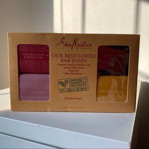 Shea Moisture Gift Set of 4 Soaps
